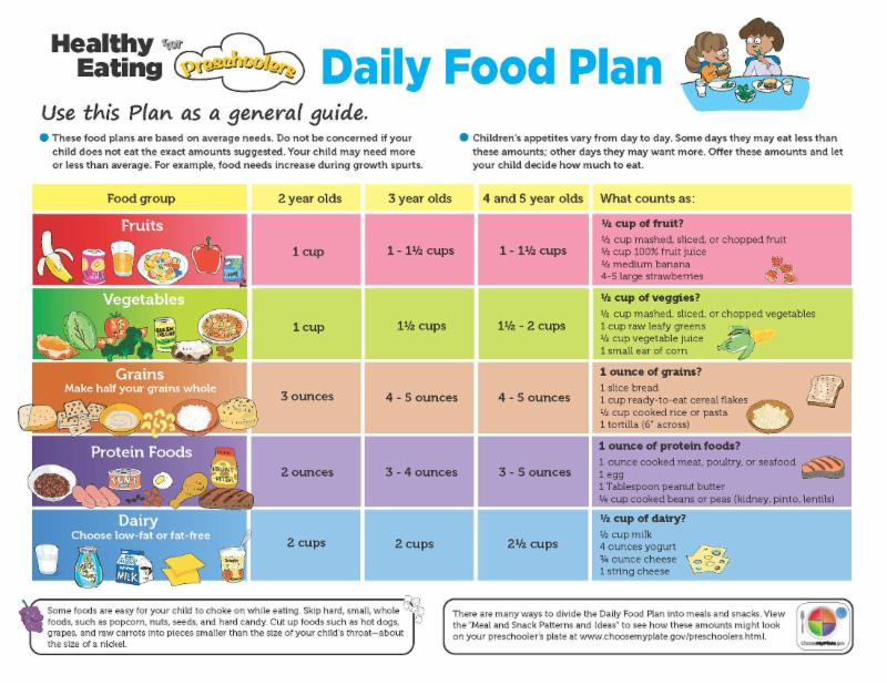 Healthy Diet Plan For Kids on Diabetic Meal Planning Worksheet